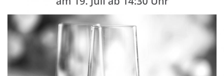 Eröffnung am 19.07.2019